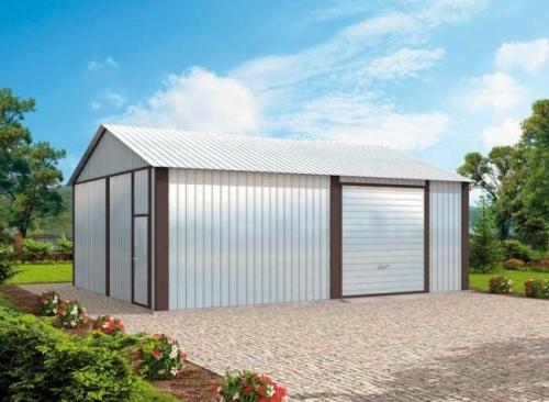 Проект гаража №174 на две машины