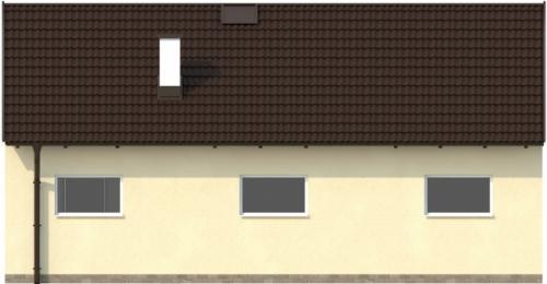 Проект гаража №223 на две машины с хозблоком