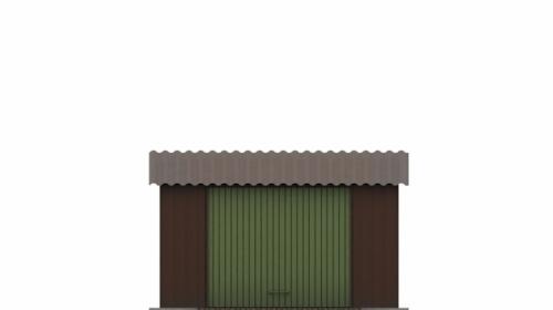 Проект гаража №27 на одну машину