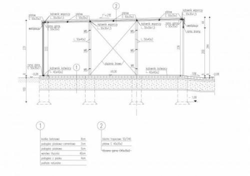 Проект гаража на одну машину (№2)