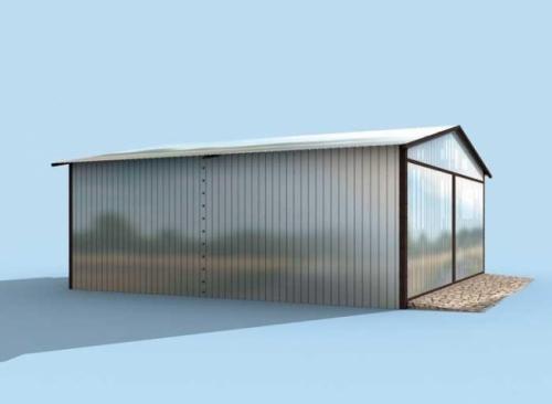 Проект гаража №100 на две машины
