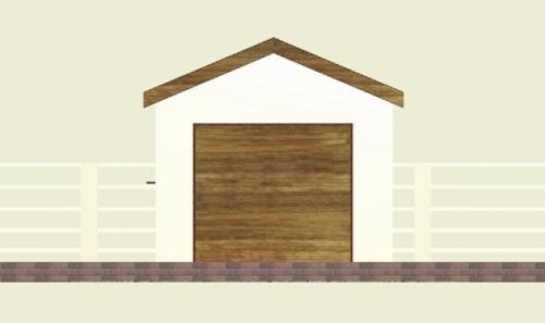 Проект гаража №11 на одну машину