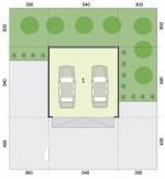 Проект гаража №48 на две машины