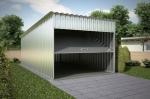 Проект гаража №5 на одну машину