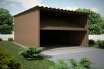 Проект гаража №6 на одну машину