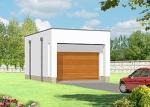 Проект гаража №72 на одну машину