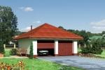 Проект гаража №78 на две машины