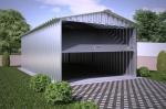 Проект гаража №7 на одну машину