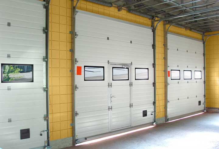 Промышленные подъемные ворота цена в Кронштадте