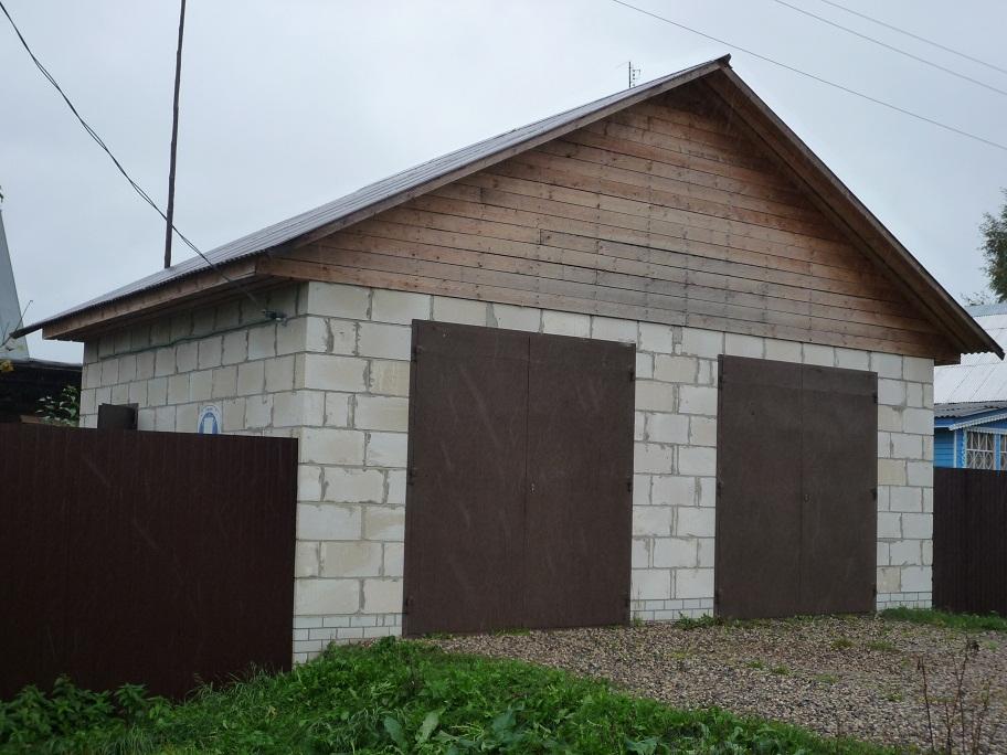 Строительство гаража своими руками из газобетона