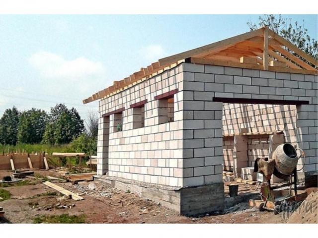Стройка гаражей своими руками из блоков