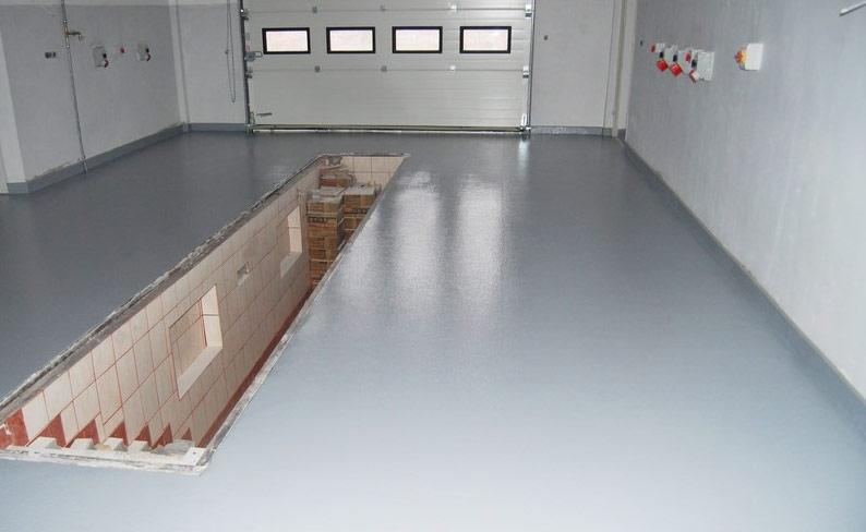 Наливные полы для гаража спб декоративный наливной пол 3d калининград