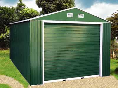 Проект односкатного гаража