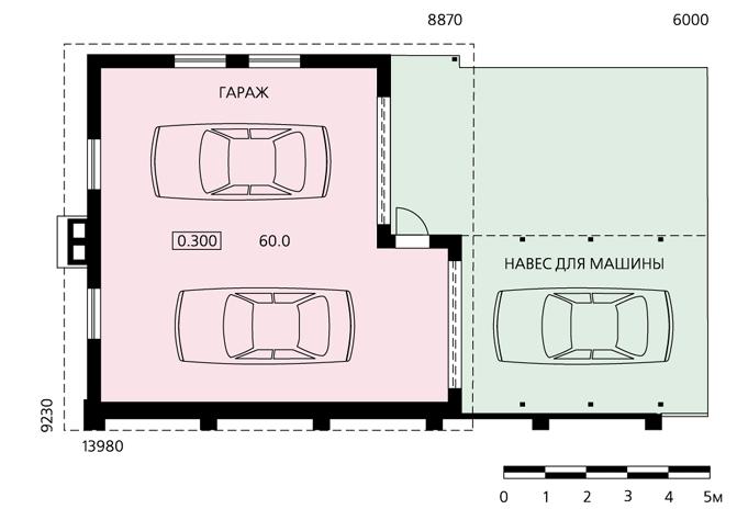 Как самому крышу гаража