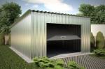 Проект гаража №29 на одну машину