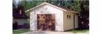 Проект гаража №14 на одну машину с хозблоком