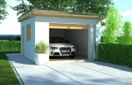 Проект гаража №19 на одну машину
