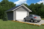 Проект гаража №51 на одну машину
