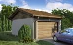 Проект гаража №60 на одну машину