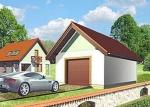 Проект гаража №61 на одну машину